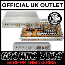 Ground Zero Hydrogen GZHA 4200XII 800 Watts 4 Channel Class A/B Car Amplifier