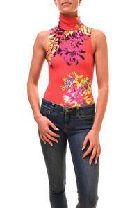 Free People Women's Pixie Bodysuit Coral Combo Size XS RRP £48 BCF84