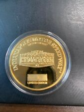 RARE U.S GRAND PRIX COMMEMORATIVE MEDALLION - LIMITED EDITION - NUMBER 1 OF 5000