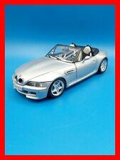 1/18 1:18 BURAGO BMW Z3 M Cabrio colore argento - 4 APERTURE