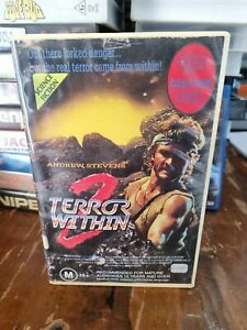 Terror Within 2 VHS