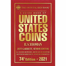 2021 Red Book Guide Of United States Coins Hard Cover 74Th Edition Free Ship!