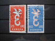 Italia MiNr. 1016-1017 Europa Comunità output timbrato (S 239)