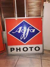 Enseigne AGFA double face