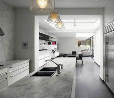 Loft Concrete laminated kitchen worktop 4m long 600mm deep round edge
