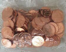 sachet de 100 pièces neuves de 5 cents ESPAGNE 2005