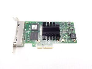 Dell Intel I350-T4 Quad Port Gigabit NIC 9YD6K 1GbE  4P Low Profile PCIe K9CR1
