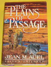 The Plains of Passage 1990 First Edition Jean Auel! Nice See!
