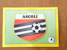 IL GRANDE CALCIO 92 1992 n 4 ASCOLI SCUDETTO , Figurina Sticker Vallardi NEW