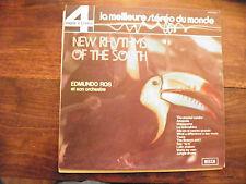 Edmundo Ros  - new rythms of the south - disque decca n° PFS 4054