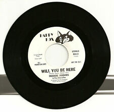Freddie Hughes Will You Be Here Promo Happy Fox 504 NM