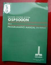 Okuma Digitizer Control System Programming Manual Td-A: 3459-E-R1 (Inv.12009)