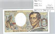 BILLET 200 FRANCS  MONTESQUIEU - 1987 - NEUF!!!!!