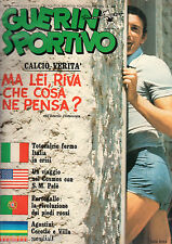 GUERIN SPORTIVO= NR°31 1975=GIGI RIVA COVER=COSMOS/PELE=PORTOGALLO=SAMANTHA STAR
