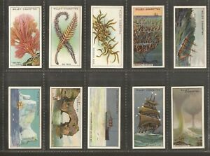WILLS - LOW PRICE - Wonders of the Sea - 1928 - Set of 50 - Good Condition.