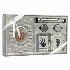 Geschenk Zur Geburt Taufgeschenk Baby Handabdruck Fußabdruck Set Mit Bilder
