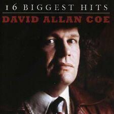 David Allan Coe - 16 Biggest Hits [New CD]