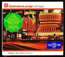 DESTINATION LOUNGE - LAS VEGAS - NEW & SEALED 2 CD SET (2005)- LOUNGE & CLUB MIX