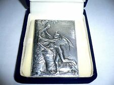 1900 Paris Olympics Official Judge Participation Medal by O. Roty Silver Plated