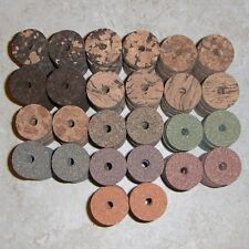 "130 Piece Most Popular Cork Assortment Kit 1 1/4"" D x 1/2"" H x 1/4"" I.D."