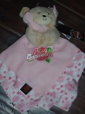 NEW HARLEY DAVIDSON MOTORCYCLE PINK FAVORITE SNUGGLE SECURITY LOVEY BABY BLANKET