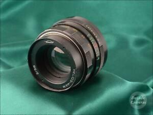 M42 Mount Helios 44M 58mm f2 Standard Prime Lens - 475