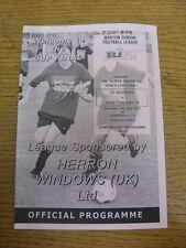 19/05/2007 Burton Junior League U13 Girls Cup Final: St Georges v Stretton Swift