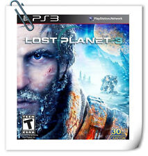 PS3 Lost Planet 3 SONY PlayStation Action Adventure Capcom
