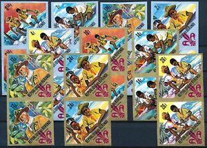 [P15999] Burundi 1967 : Scout - 2x Good Set Very Fine MNH Imperf Stamps