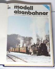 transpress  Modell Eisenbahner Zeitschriften von 1984   12 Stück gebunden