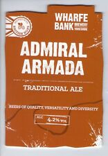 WHARFE BANK BREWERY (POOL IN WHARFEDALE) - ADMIRAL ARMADA - PUMP CLIP FRONT