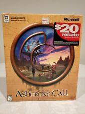 Asheron's Call by Microsoft - Vintage Pc Game Big Box, New Sealed