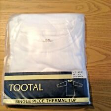 "New -  Tootal Mens Thermal Vest Uk Small 38"" In White. Free UK Postage"