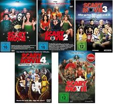 Scary Movie 1-5 dvd Set 1,2,3,4,5 Charly Sheen, alle Teile,komplett,complete,neu