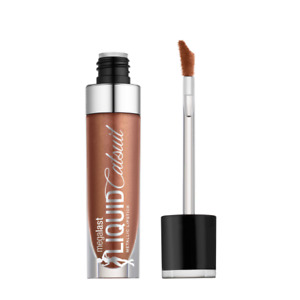 Wet n Wild Megalast Liquid Catsuit Satin Sheets Metallic Lipstick Rose Gold 938A