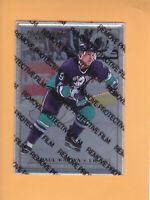 1996 97 LEAF PREFERRED STEEL # 34 PAUL KARIYA DUCKS **UNPEELED ** FREE SHIPPING