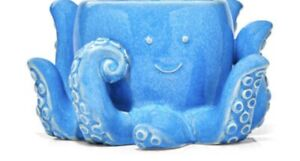 Bath & Body Works *BLUE SMILING BABY OCTOPUS SOAP HOLDER*