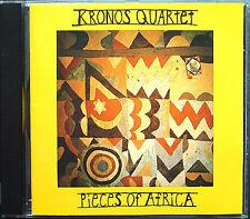 KRONOS QUARTET: PIECES OF AFRICA Maraire Hakmoun Suso Volans Hamza El Din CD