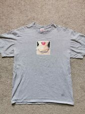 Supreme Necklace Tee Heather Grey Medium