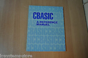 CBASIC A Reference Manual Book
