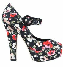 Women's Textile Mary Janes