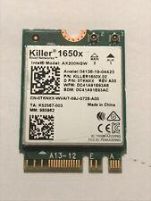 New listing Alienware Area 51m P38E 802.11ax 2.4Gbps WiFi Bluetooth 5.1 Wireless Card Tknxx