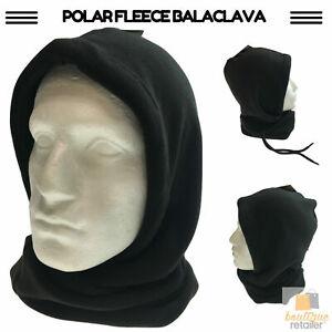 THERMAL Fleece BALACLAVA Beanie Ski Face Mask Hat Neck Motorbike Snowboard Hood