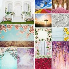 5x7ft Wedding Party Flowers Photography Background Vinyl Backdrops Photo Prop