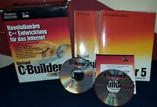 Borland C++ Builder 5 Enterprise deutsch OVP MwstRechnung