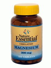Magnesio Quelado 300Mg 250 Comprimidos Nature Essential