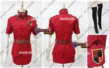 Hellsing Ultimate Victoria Seras Cosplay Costume Ver.Red
