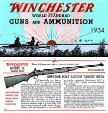 Winchester 1934 World Standard Guns & Ammunition Catalog