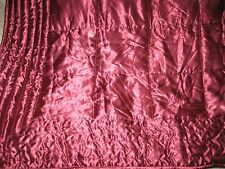 IoveIy satin quiIted bedspread from Next. King size 240 x 260