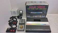 Atari 7800 Console [Boxed] with Donkey-Kong ans Mrs.Pac-Man very complete & Rare